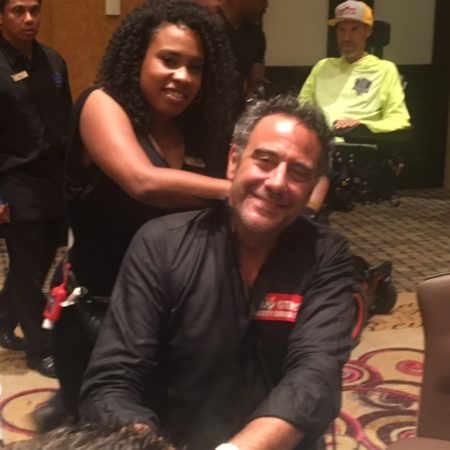 Brad Garrett Works The Poker Room Raising Almost $20K For Charity