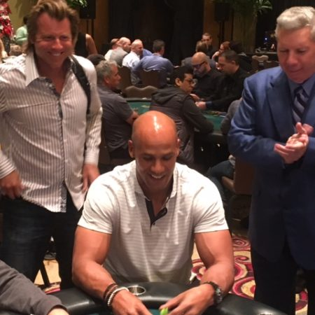 Jason Taylor Poker Event At Hard Rock Tonight