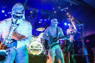 The Mummies Brings 'The Dark Matter Tour' to Seminole Casino Hotel