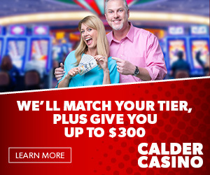 Calder Casino New Member Tier Match