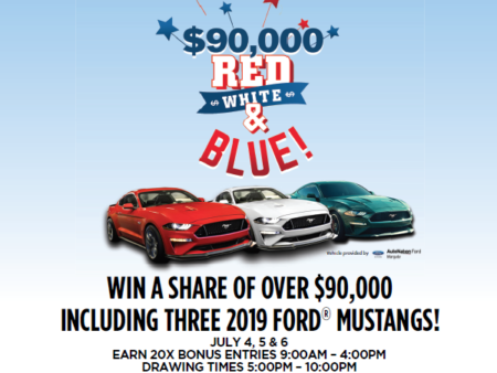 3 Lucky People Will Drive Home with a New Ford Mustang
