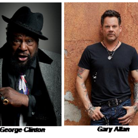 George Clinton, Gary Allan Coming to Hard Rock Event Center