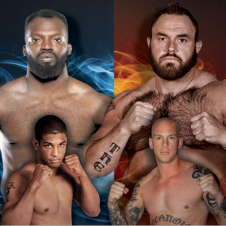 """BYB Extreme Fighting Series Presents """"Brawl III: Brawl at The Rock"""""""